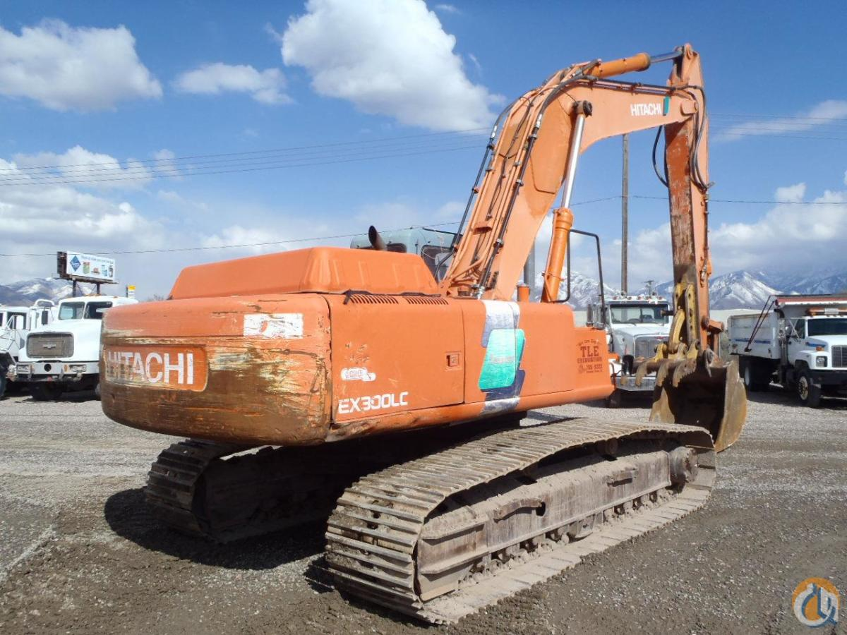 1998 HITACHI EX300 LC-3C Crawler HITACHI EX300 LC-3C Equipment Sales Inc 18192 on CraneNetworkcom